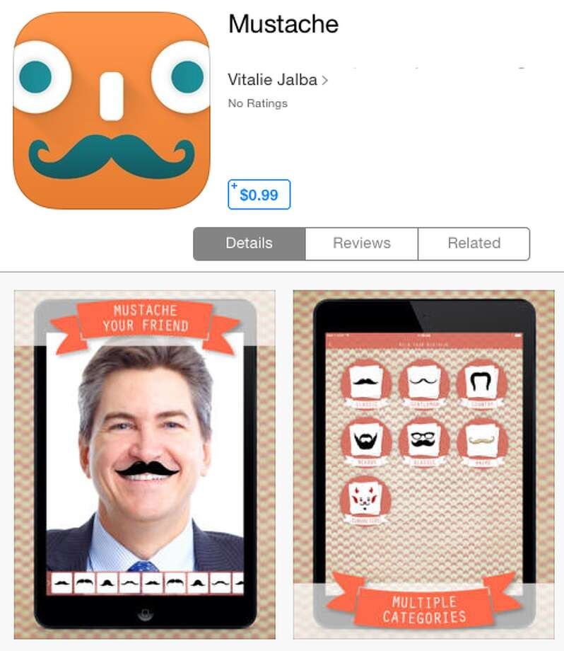 We're not sure why everyone is obsessed with mustaches these days, But Mustache has you covered.