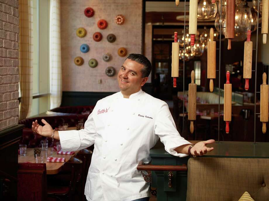 """New York City police say """"Cake Boss"""" Buddy Valastro has been arrested on a drunken-driving charge.Police say Bartolo Valastro, of Montville, New Jersey, was driving erratically when he was pulled over on 10th Avenue in Lower Manhattan around 1 a.m. Thursday. Police say officers observed Valastro's yellow 2014 Corvette swerving through traffic while traveling north between 20th and 32nd streets. Police say he was unsteady on his feet when he stepped out of the vehicle. They say his face was flushed and his eyes were bloodshot. Police say he failed a Breathalyzer test and was taken into custody. Valastro stars in the reality show, """"Cake Boss,"""" which airs on TLC. He operates several bakeries. Calls for comment left at TLC and his Hoboken, New Jersey, location weren't immediately returned.See other reality-TV stars who got in trouble with the law. Photo: Buddy V's / Buddy V's"""