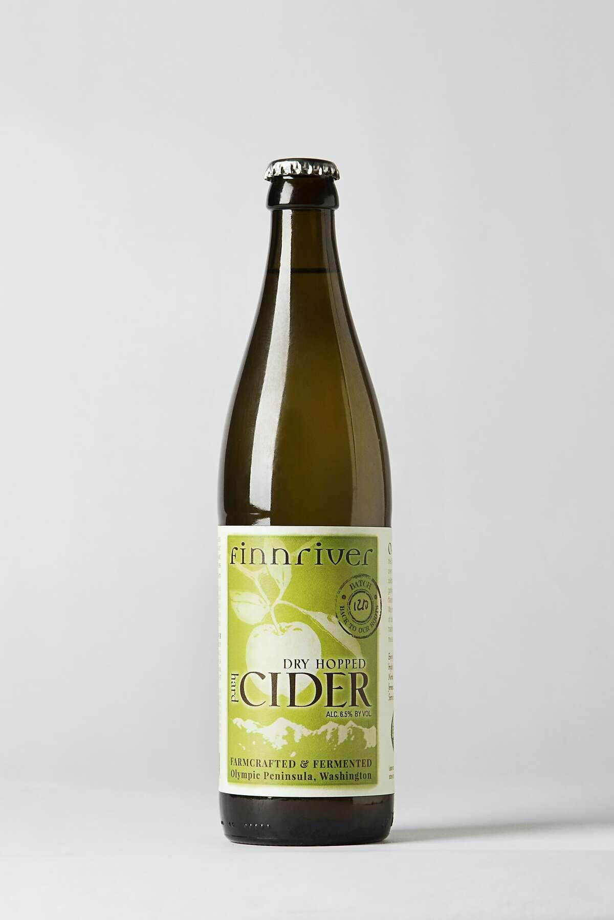 Finnriver Cider Finnriver Dry Hopped Cider was shot in studio on April 9th, 2014 in San Francisco, Calif.