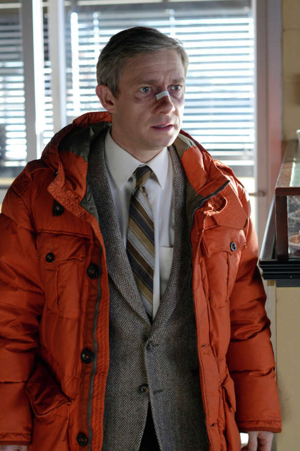 Martin Freeman as Lester Nygaard Photo: Chris Large, FX / Copyright 2014, FX Networks. All rights reserved.