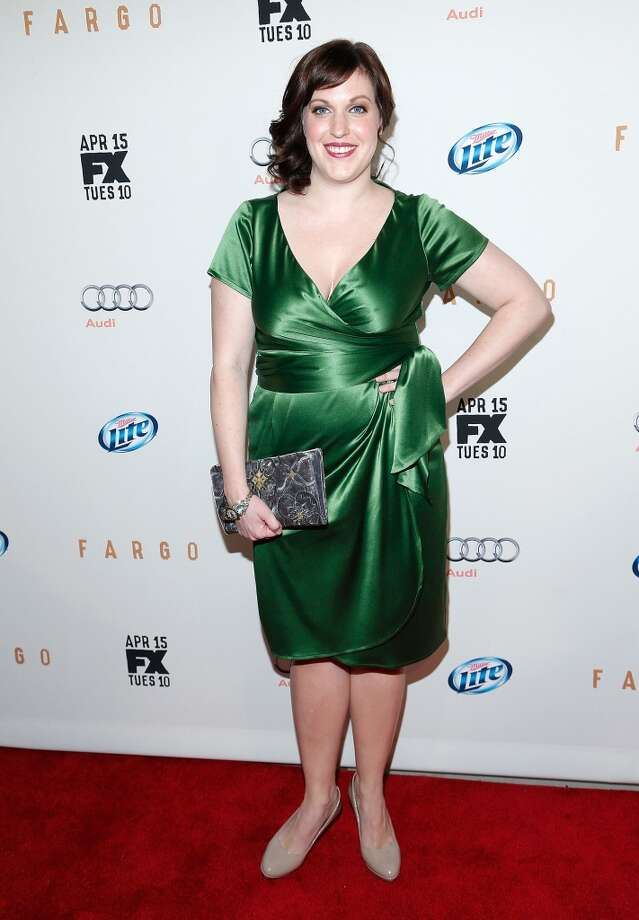 Actress Allison Tolman of Sugar Land attends a Fargo screening on April 9. Photo: Jemal Countess, Getty Images