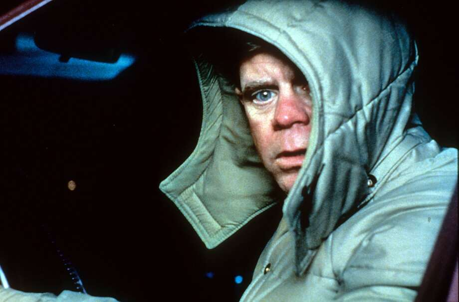 William H Macy bundled up in car in a scene from the film 'Fargo', 1996. Photo: Archive Photos, Getty Images