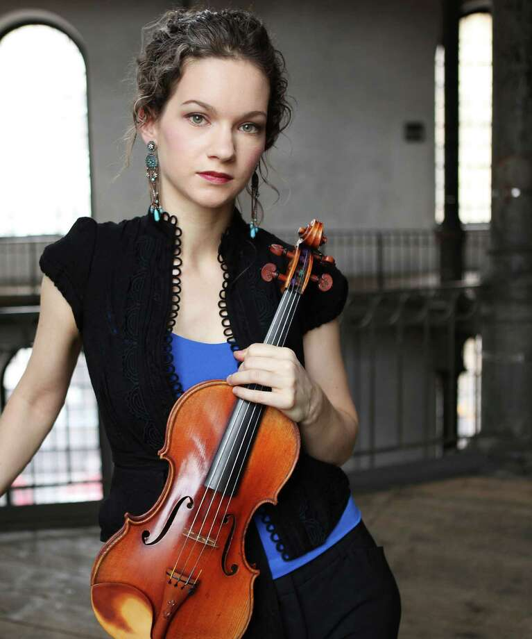 Celebrated violinist Hilary Hahn performs in recital with pianist Cory Smythe on Tuesday, April 22, at the Regina A. Quick Center for the Arts at Fairfield University. Photo: Contributed Photo, Contributed Photo / Connecticut Post Contributed