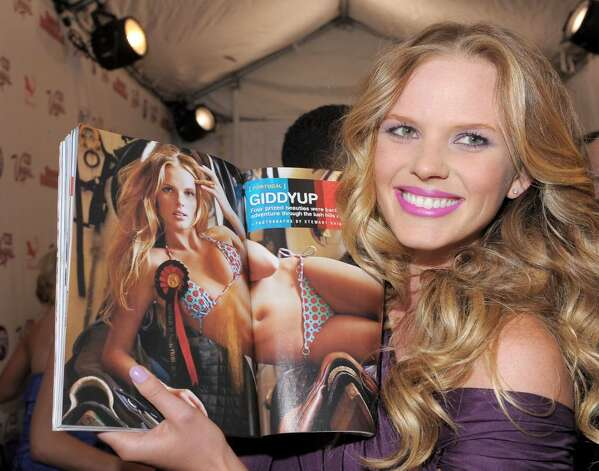 NEW YORK - FEBRUARY 09:  Model Anne V attends the Sports Illustrated Swimsuit 24/7: New York Launch Party at Provocateur at The Hotel Gansevoort on February 9, 2010 in New York City.  (Photo by Michael Loccisano/Getty Images for Sports Illustrated) *** Local Caption *** Anne V Photo: Michael Loccisano, Getty Images For Sports Illustra / 2010 Getty Images