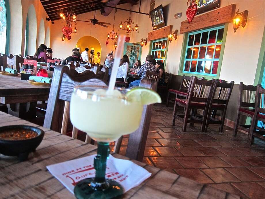 A look at the dining porch at the new El Tiempo Cantina on Navigation. Photo: Alison Cook