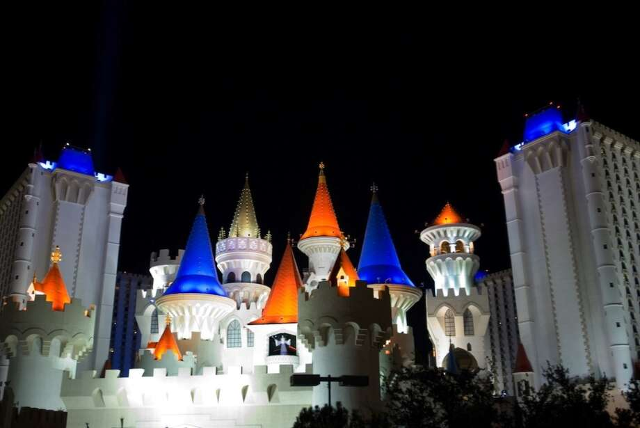 Don your best medieval garb for a retro wedding  at the Excalibur, arguably the kitschiest casino/hotel on the strip. Photo: Ray Laskowitz, Getty Images/Perspectives