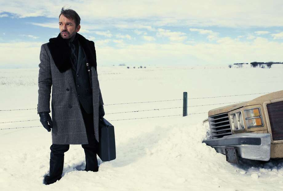 "Billy Bob Thornton plays a manipulative drifter who brings murder, mayhem and a few dark giggles to a snow-encrusted Minnesota town in the limited FX series ""Fargo."" Photo: FX / Copyright 2014, FX Networks. All rights reserved."