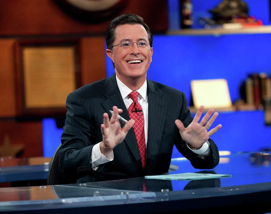 "Stephen Colbert hosts Comedy Central's ""The Colbert Report."" Photo: Scott Gries, HOEP / Comedy Central"
