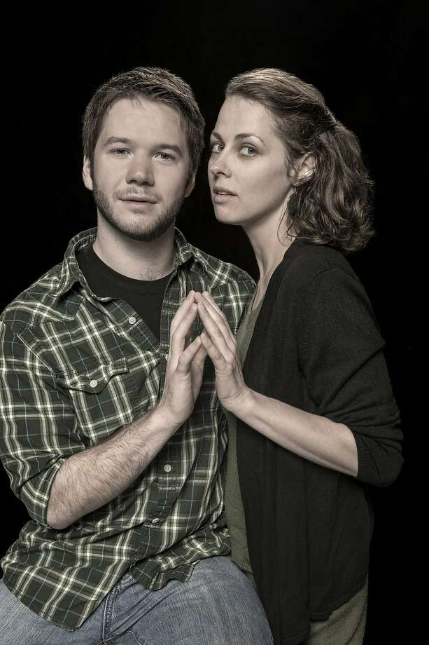 "James Caverly as Billy and Nell Geisslinger as Sylvia headline a cast for ""Tribes"" at Berkeley Repertory's Thrust Stage. Photo: Kevinberne.com"