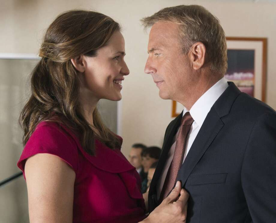 "Kevin Costner, right, and Jennifer Garner star in ""Draft Day."" Photo: HANDOUT, McClatchy-Tribune News Service"
