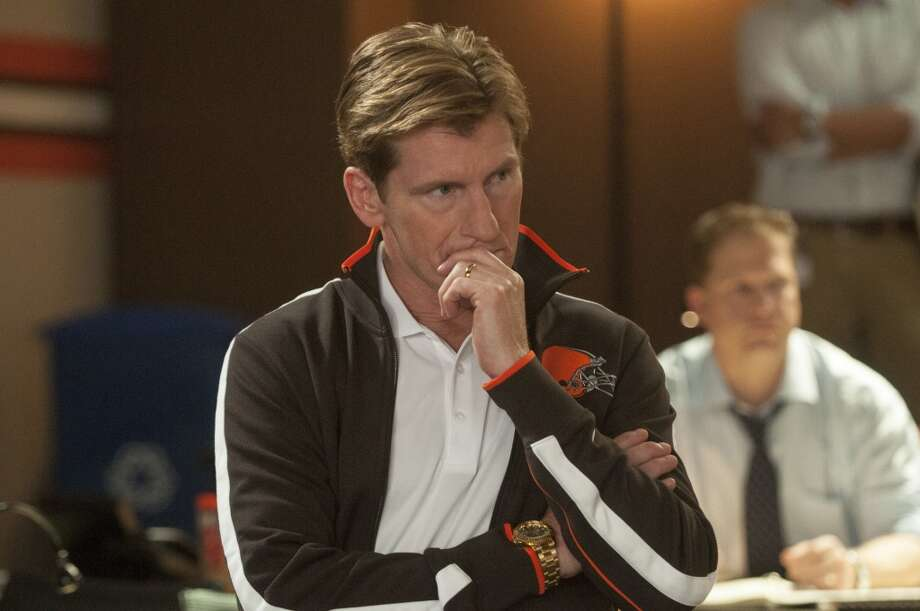 "Denis Leary in a scene from ""Draft Day."" Photo: Dale Robinette, Associated Press"