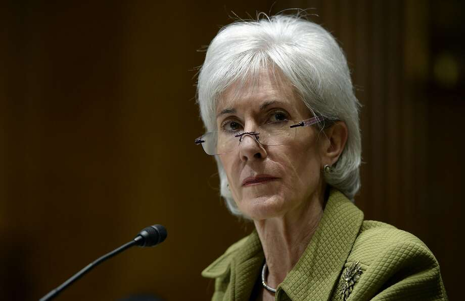 Health and Human Services Secretary Kathleen Sebelius testifies before the Senate on her department's 2015 budget. Photo: Susan Walsh, Associated Press