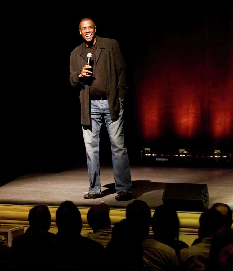 Former big-league pitcher Dwight Gooden speaks to a large audience at the Ridgefield Playhouse about winning the World Series and playing for the Mets and Yankees. Thursday, April 10, 2014 Photo: Scott Mullin / The News-Times Freelance