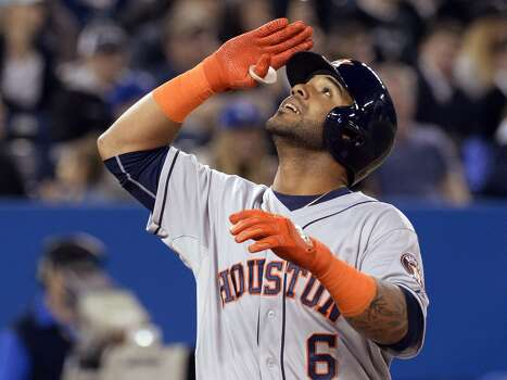 April 10: Astros 6, Blue Jays 4  Houston avoided a three-game sweep by Toronto with a dominating win in the series finale.  Record: 4-6. Photo: Frank Gunn, Associated Press