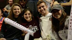 Were you Seen at Union College's Messa Rink watching the Union hockey team play Boston College in the Frozen Four NCAA semifinal game in Philadelphia on Thursday, April 10, 2014?