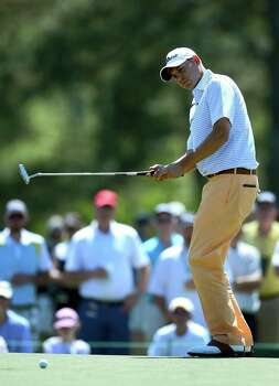 Bill Haas will try to improve on last week, when he led the Shell Houston Open after the first round but faded to 37th place. Photo: Jeff Siner, MBR / Charlotte Observer