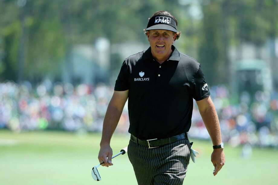 AUGUSTA, GA - APRIL 10:  Phil Mickelson of the United States walks to the first green during the first round of the 2014 Masters Tournament at Augusta National Golf Club on April 10, 2014 in Augusta, Georgia.  (Photo by Andrew Redington/Getty Images) Photo: Andrew Redington, Staff / 2014 Getty Images