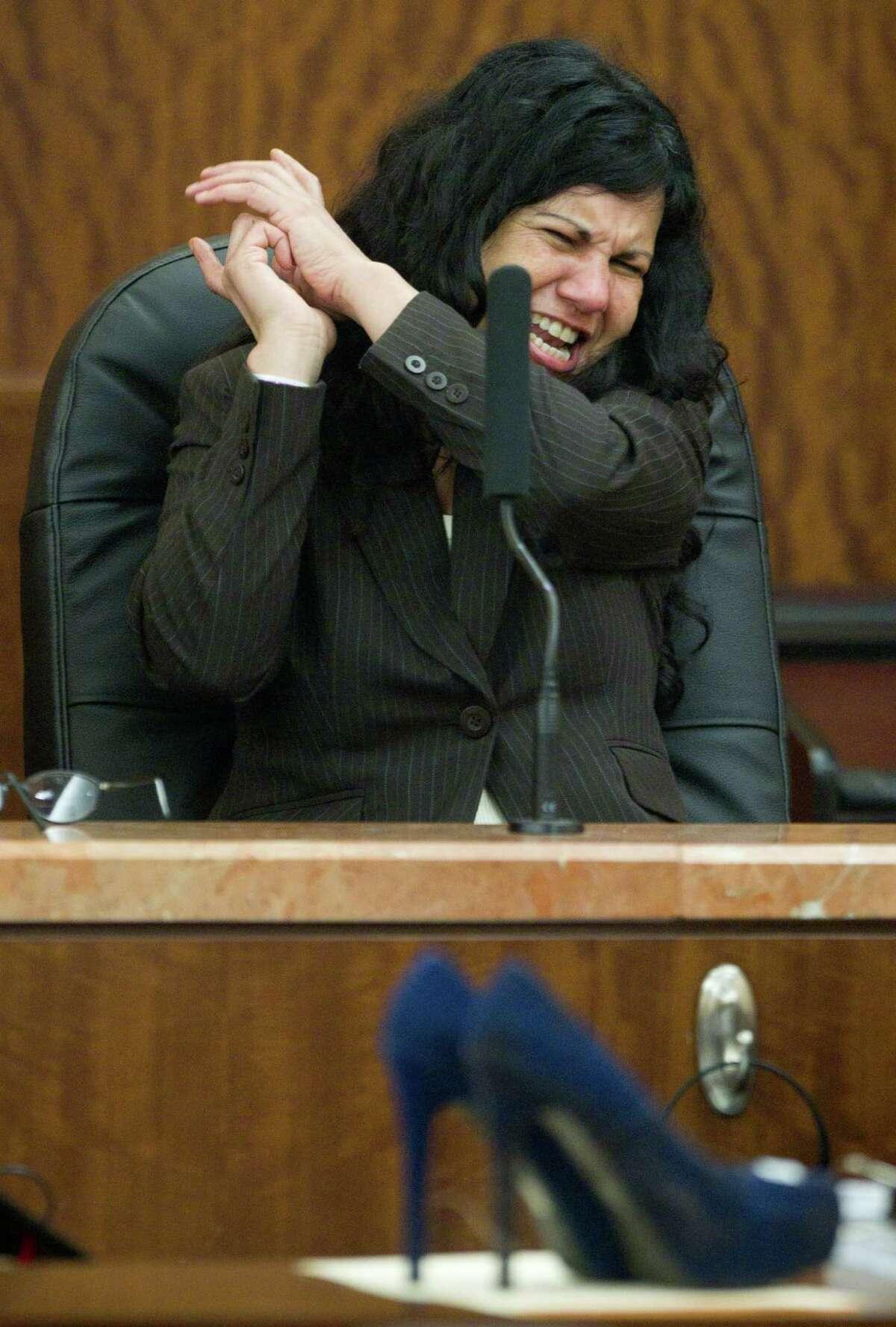 STILETTO KILLER June 9, 2013 Jurors sentenced Ana Trujillo, AKA the