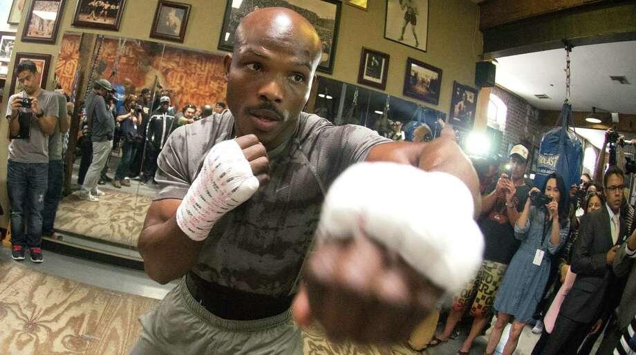 Timothy Bradley (31-0, 12 KOs) beat Manny Pacquiao by a split decision in June 2012. Photo: Joe Klamar / Getty Images / AFP