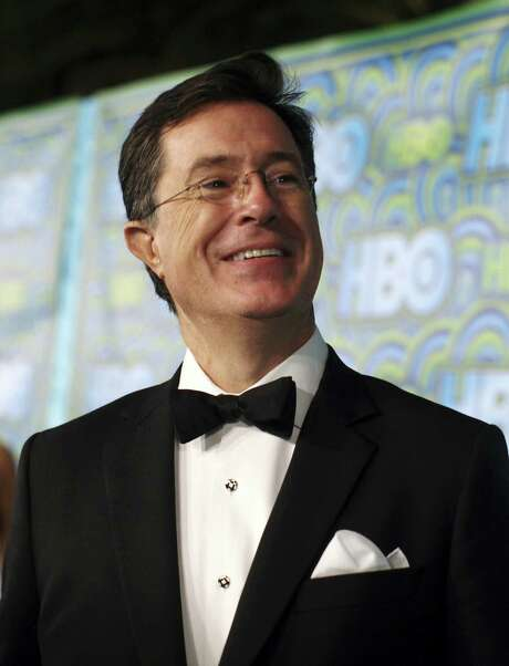 """Stephen Colbert will succeed David Letterman as the host of CBS' """"Late Show,"""" the network has announced. Photo: Emily Berl / New York Times / NYTNS"""