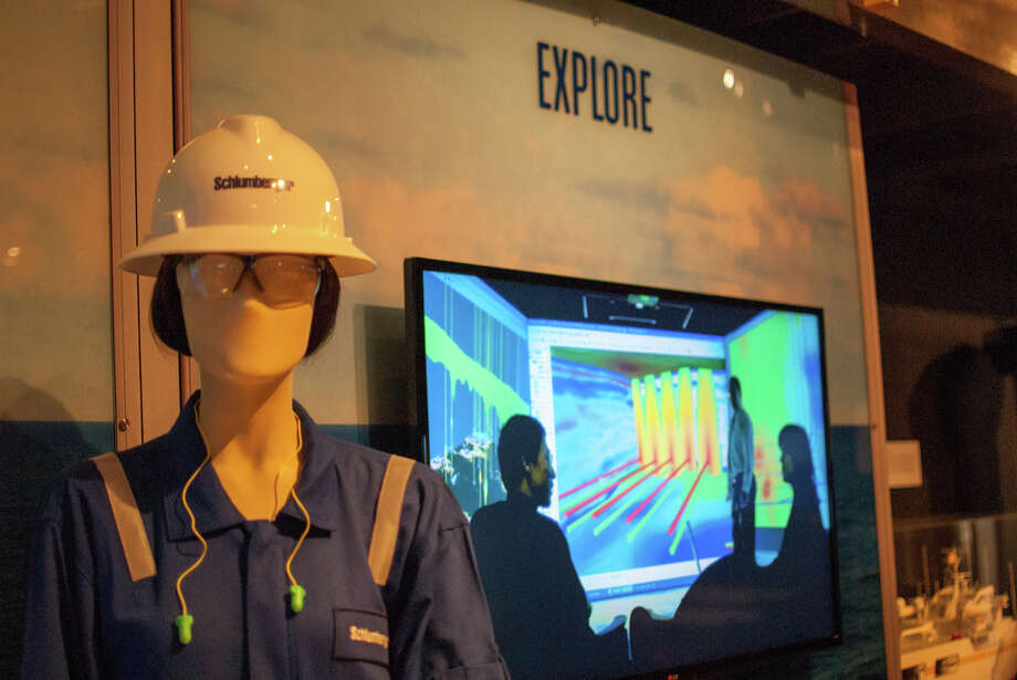 """Offshore Drilling: The Promise of Discovery"" exhibit is on display at the George Bush Presidential Library and Museum at Texas A&M University through Feb. 1, 2015. Photo: George Bush Presidential Library And Museum"