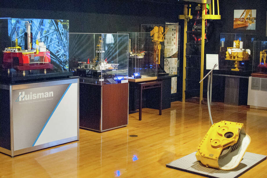 """""""Offshore Drilling: The Promise of Discovery"""" exhibit is on display at the George Bush Presidential Library and Museum at Texas A&M University through Feb. 1, 2015. Photo: George Bush Presidential Library And Museum"""