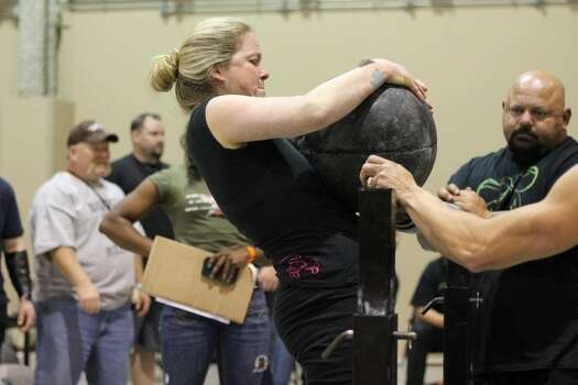 Strongest Woman In The World 2014 Texas' strongest man and woman