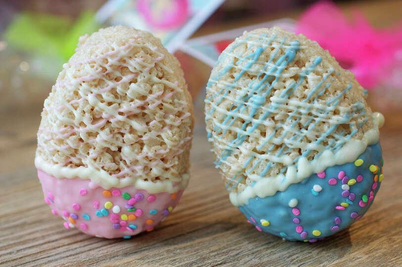 Pin Easter Egg Rice Krispie Treats On A Stick on Pinterest