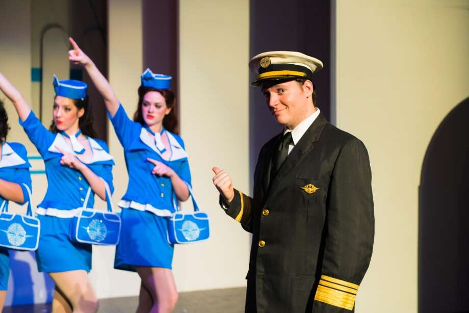 "Opening: ""Catch Me If You Can."" Through May 11, Woodlawn Theatre. woodlawntheatre.org; 210-267-8388. Courtesy photo. Photo: Siggi Ragnar"