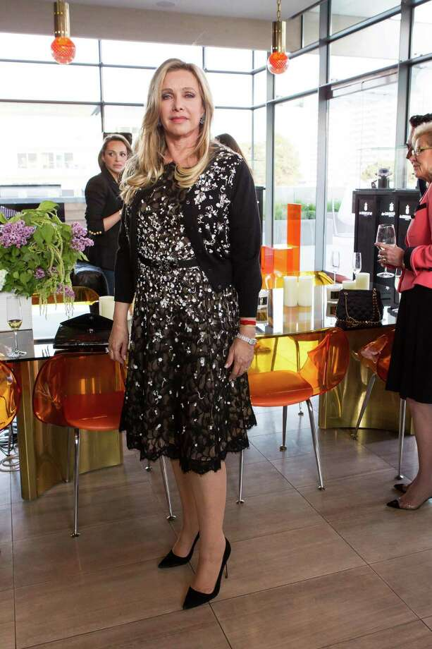 Lauren King at a cocktail party in the Battery Penthouse hosted by de Grisogono in honor of Dede Wilsey and The Fine Art Museums of San Francisco on April 8, 2014. Photo: Drew Altizer Photography / Drew Altizer Photography