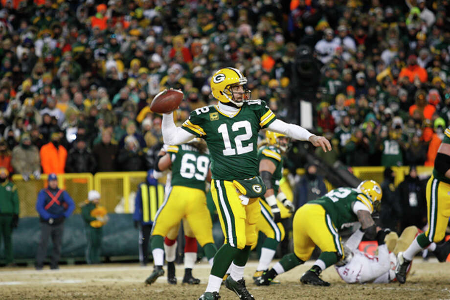 No. 4 – Aaron RodgersQuarterback | Green Bay Packers$40 million Photo: Michael Zagaris, Getty Images / 2014 Michael Zagaris