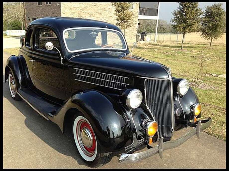 1936 Ford 5 Window Coupe Photo: Courtesy Of Mecum Auctions