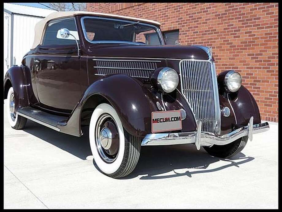 1936 Ford Cabriolet Photo: Courtesy Of Mecum Auctions