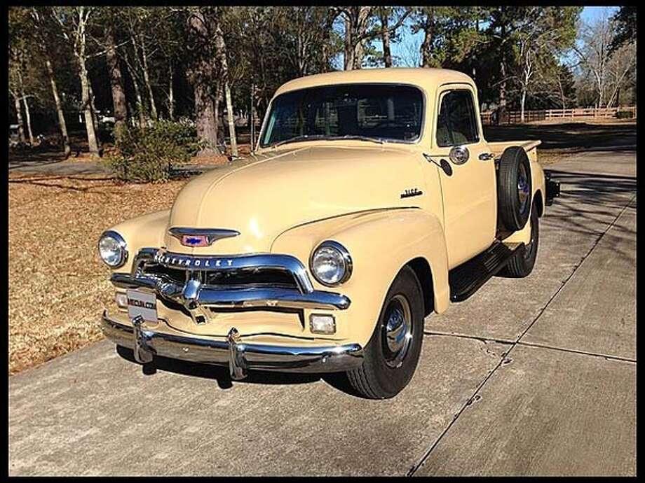 1954 Chevrolet 3100 5-window Pickup Photo: Courtesy Of Mecum Auctions