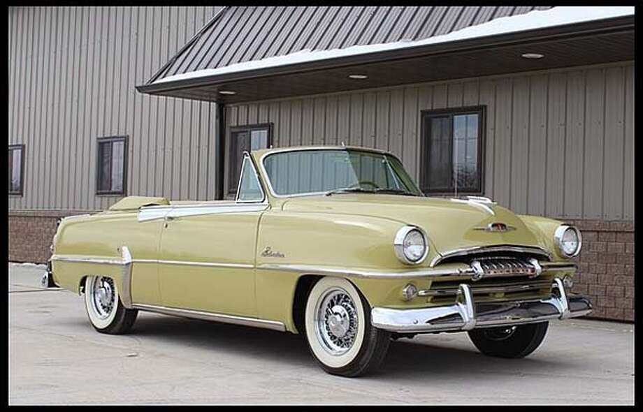 1954 Plymouth Belvedere Convertible Photo: Courtesy Of Mecum Auctions