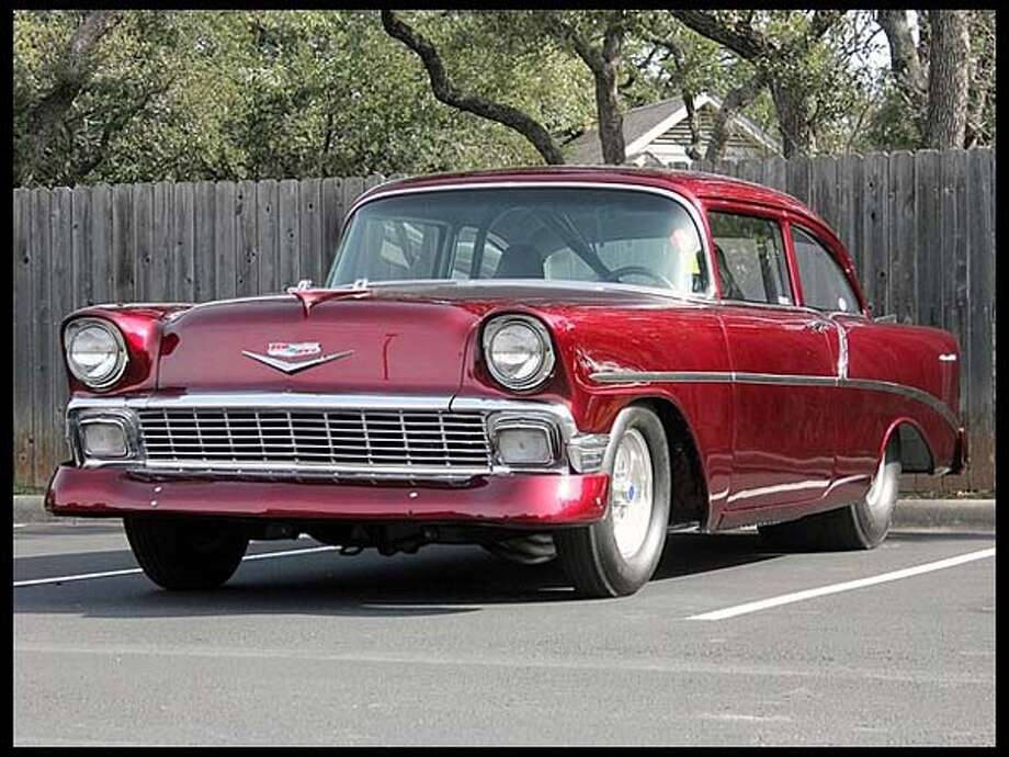 1956 Chevrolet 210 Pro Touring Photo: Courtesy Of Mecum Auctions