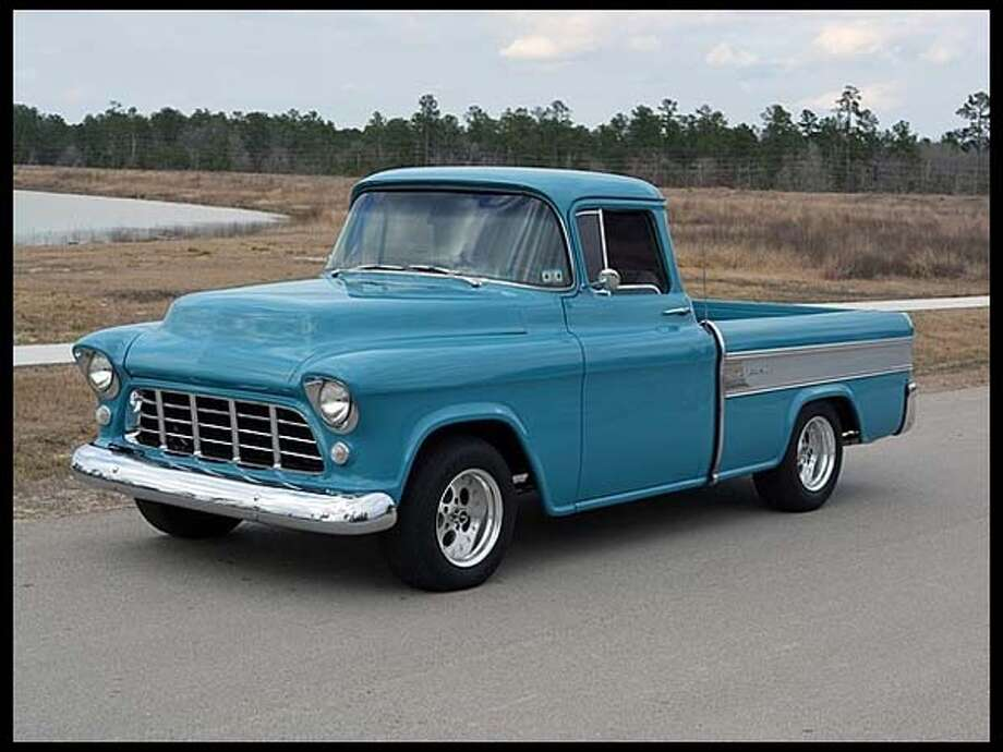 1956 Chevrolet Cameo Pickup Photo: Courtesy Of Mecum Auctions