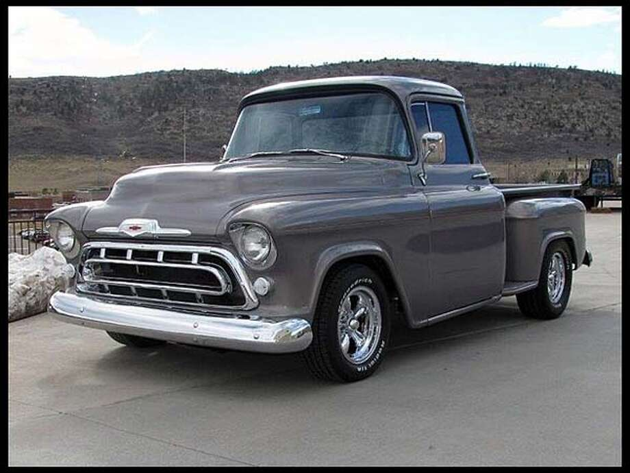 1957 Chevrolet Pickup Photo: Courtesy Of Mecum Auctions