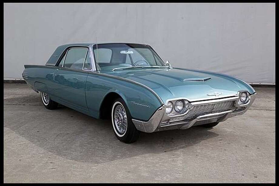 1961 Ford Thunderbird Photo: Courtesy Of Mecum Auctions