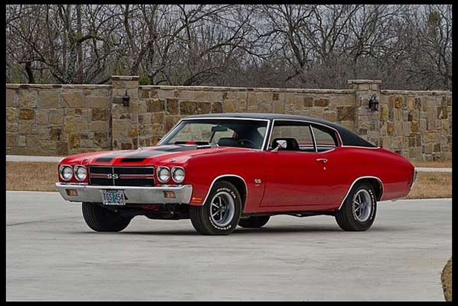 1970 Chevrolet Chevelle SS Hardtop Photo: Courtesy Of Mecum Auctions