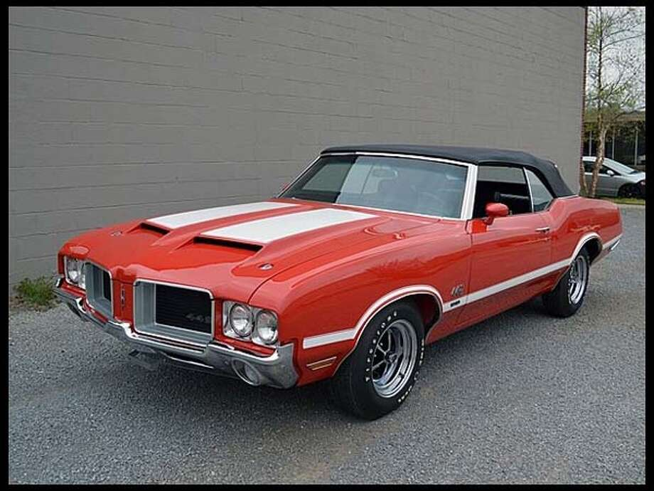 1971 Oldsmobile 442 W 30 Convertible Photo: Courtesy Of Mecum Auctions
