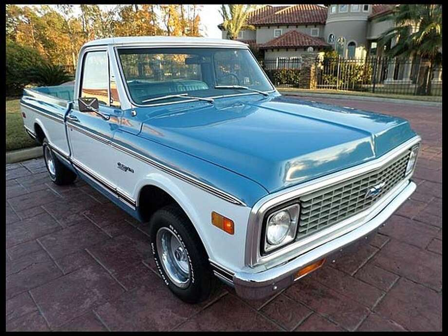 1972 Chevrolet C10 Short Bed Pickup Photo: Courtesy Of Mecum Auctions