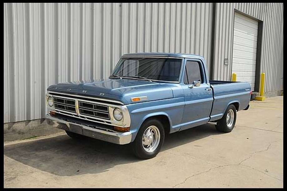 1972 Ford F100 Explorer Pickup Photo: Courtesy Of Mecum Auctions