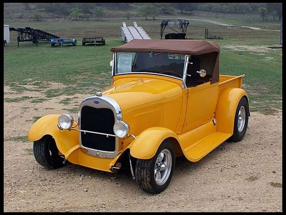 1928 Ford Pickup Street Rod Photo: Courtesy Of Mecum Auctions
