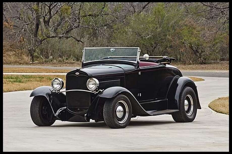 1931 Ford Model-A Roadster street rod Photo: Courtesy Of Mecum Auctions
