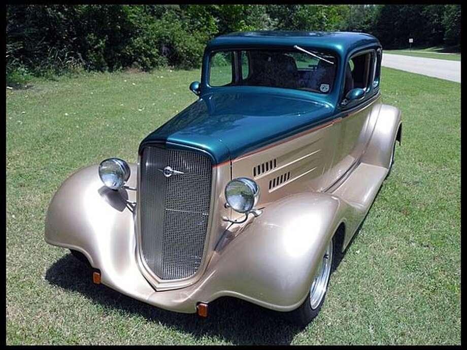 1934 Chevrolet Street Rod Photo: Courtesy Of Mecum Auctions