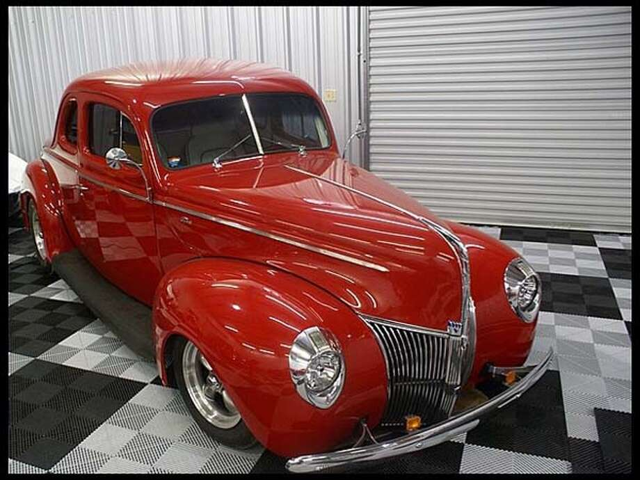 1940 Ford Business Coupe Photo: Courtesy Of Mecum Auctions