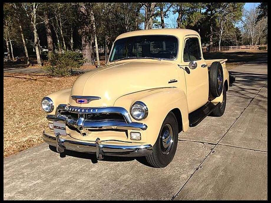 1954 Chevrolet 3100 5-window Pickup Photo: Courtesy Of Mecum Auctions