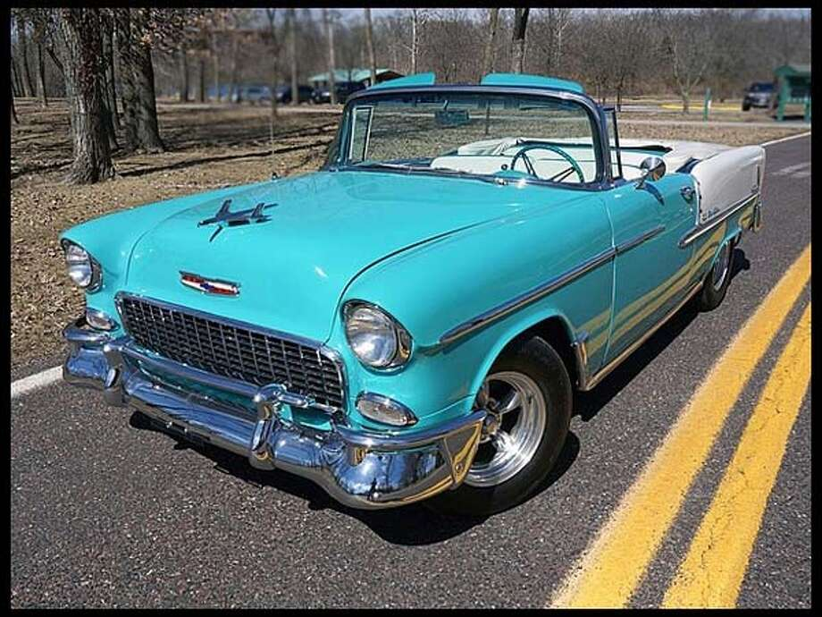 1955 Chevrolet Bel Air Convertible Photo: Courtesy Of Mecum Auctions