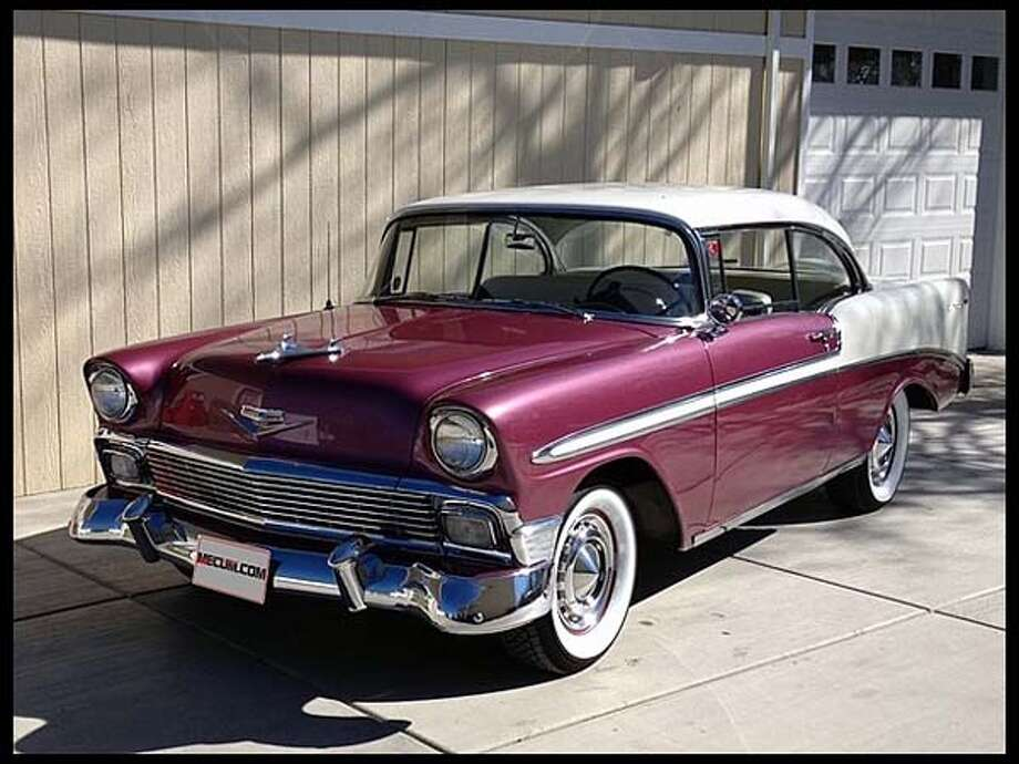 1956 Chevrolet Bel Air Hardtop Photo: Courtesy Of Mecum Auctions